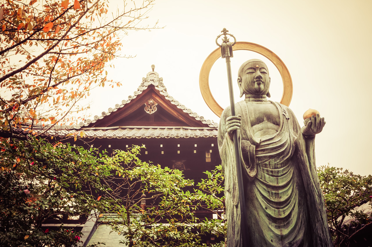 Buddha Statue in Kyoto, Japan