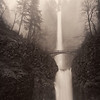 Multnomah Falls in the Rain
