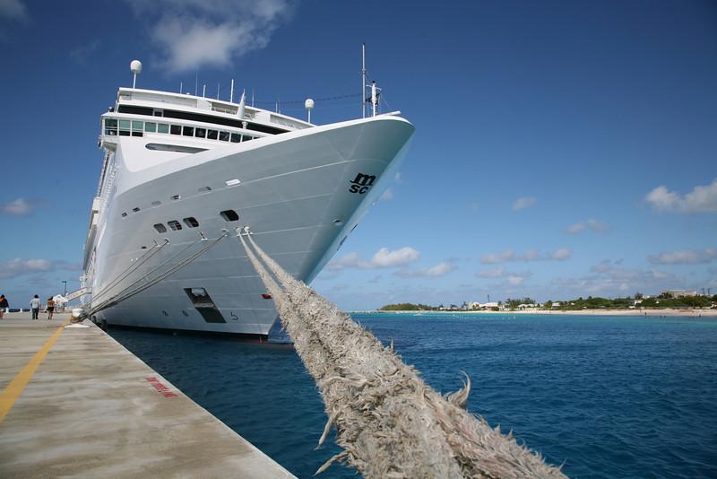 The Jamcruise boat, Turks & Caicos, Caribbean 2007