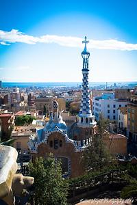 Park Guell - Barcelona, Spain 2014