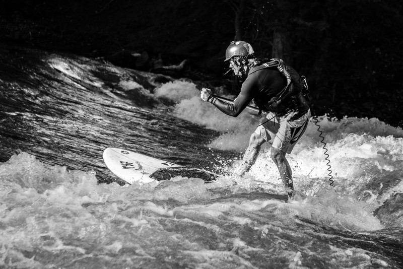River Surfer - Salida, Colorado June 2013