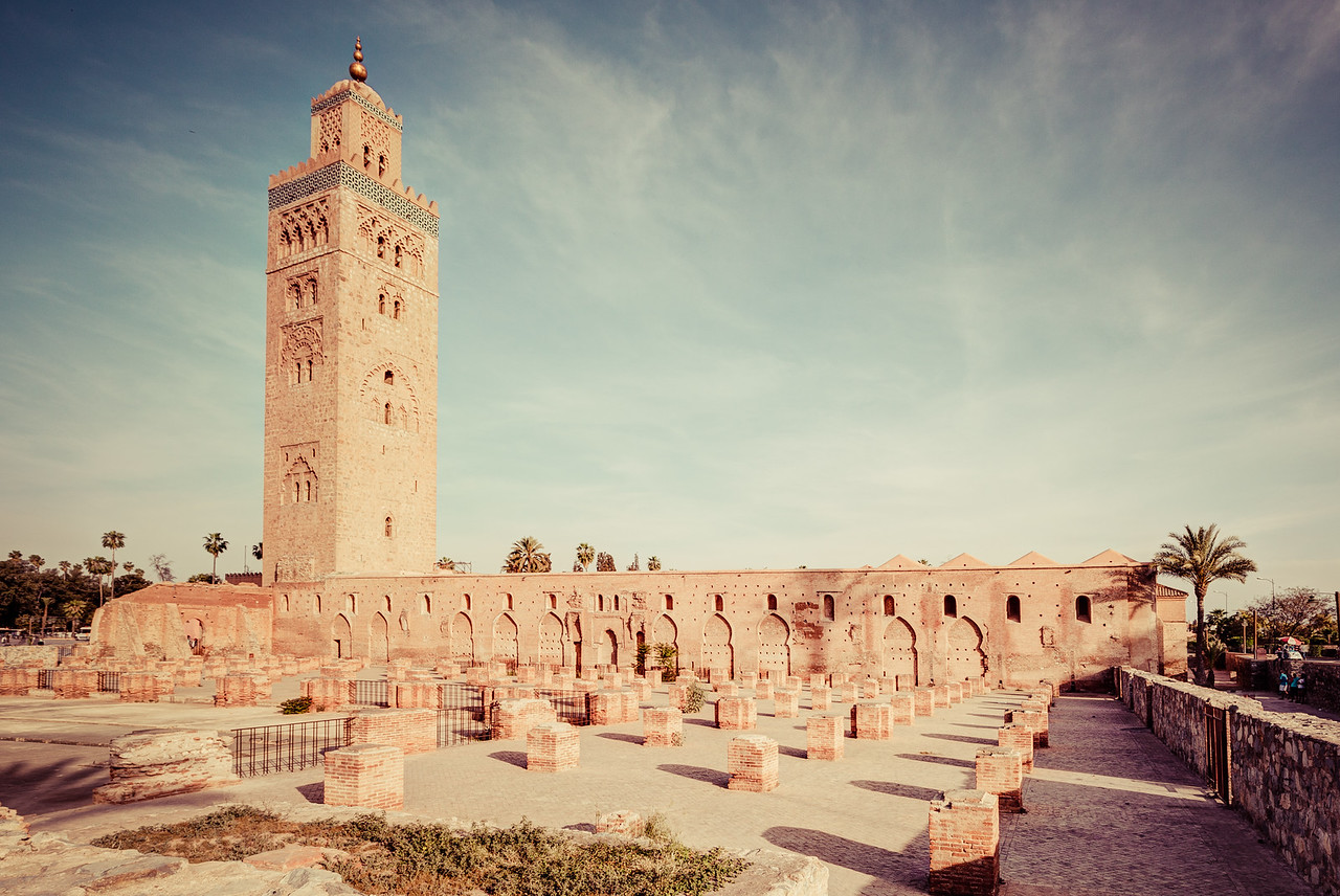 Walking Around Koutoubia Mosque in Marrakech