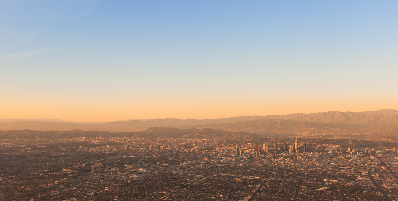 Landing in the City of Angels