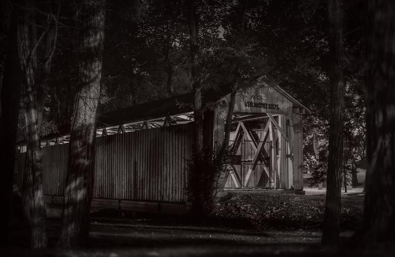 Covered Bridge Vermont 1875, Kokomo, Indiana