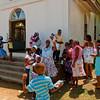 A Local church near the French Harbour in Roatan Honduras