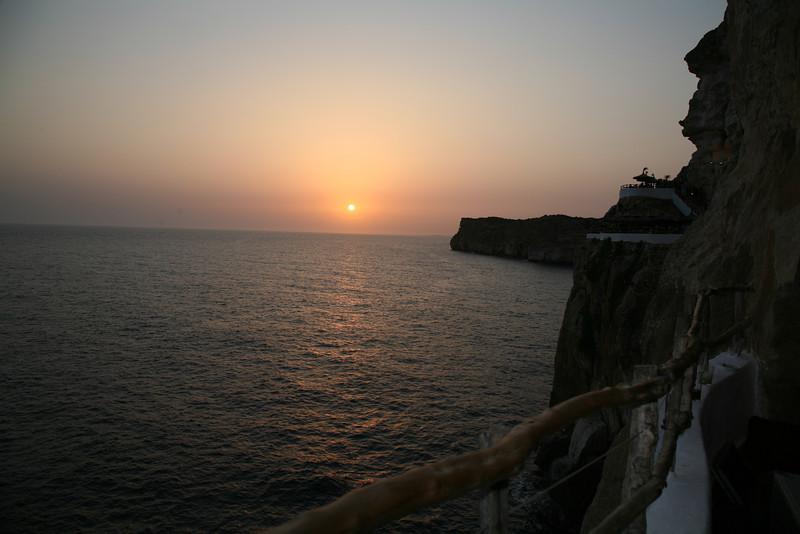 La Cova den Xoroi, Menorca, Spain