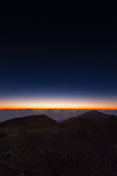 Dawn Over Haleakala Maui, Hawaii