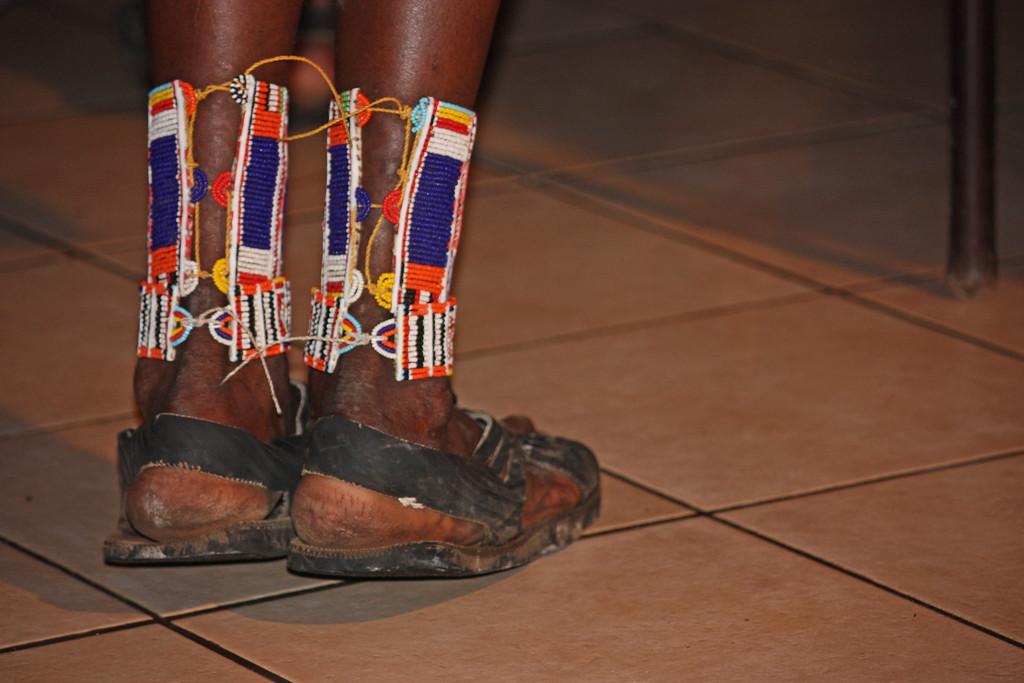 Masai dancer