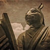 Chinese Astrology Rabbit Statue in Kowloon, Hong Kong