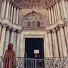 Awe in a Fur Coat, St Marks, Venice Italy