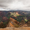 Waimea Canyon Overlook, Kauai, Hawaii