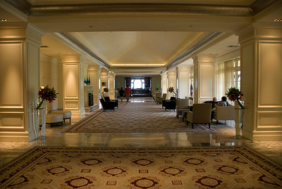 Ritz Carlton lobby, Monarch Beach