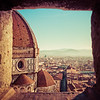 A Glimpse of the Dome of Santa Maria del Fiore