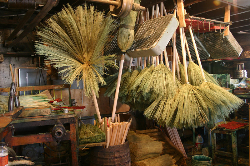 Broom workshop, St Jacob's, Ontario