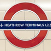 London Tube Station Sign