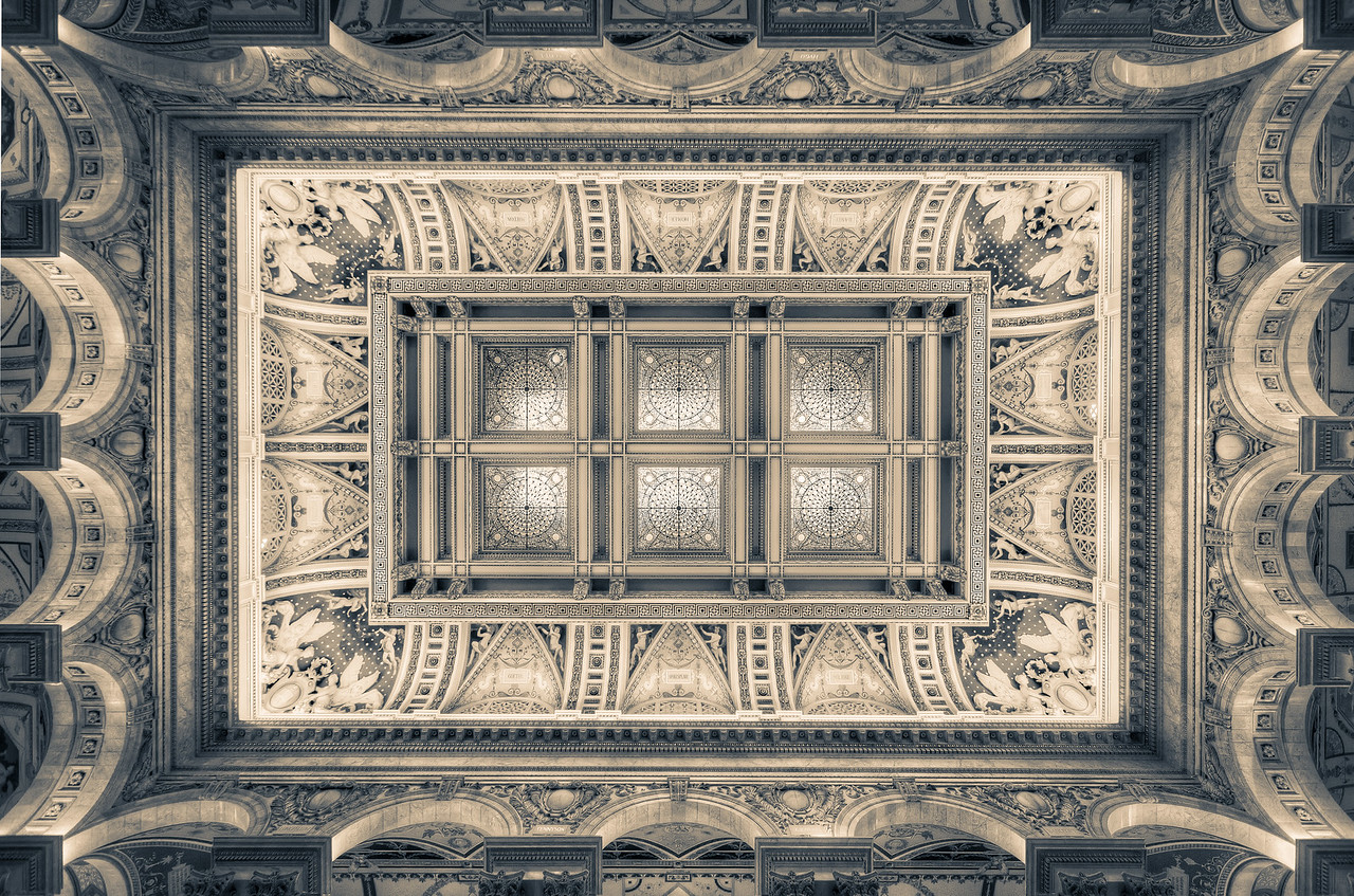 The Library of Congress Skylight