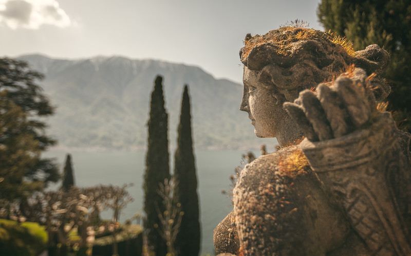 Longing Archer at Villa del Balbianello