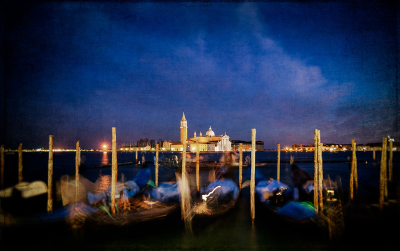 Ghosts of Gondolas in Venice