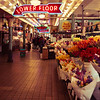 Inside Pike Place Market, Seattle, Washington