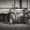 Old Bicycle on the Streets of Milan, Italy