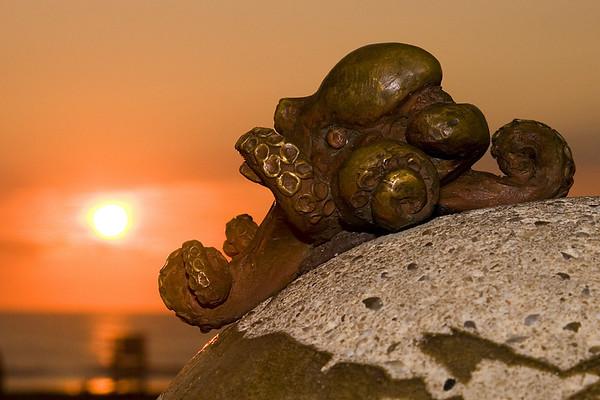 Octopus at Sunrise; Virginia Beach, VA