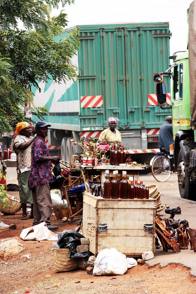 Roadside stall, Kenya