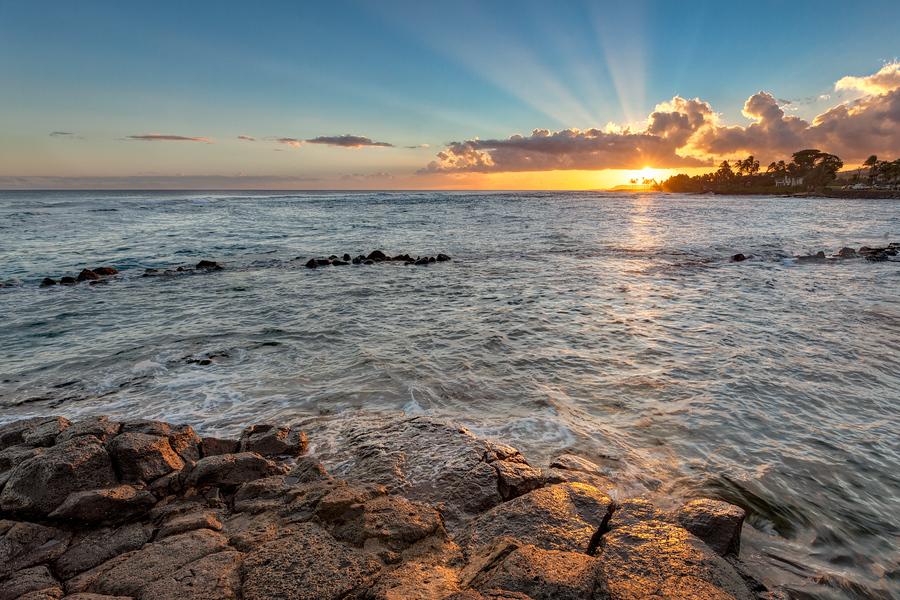 Kauai Sunset from The Beach House
