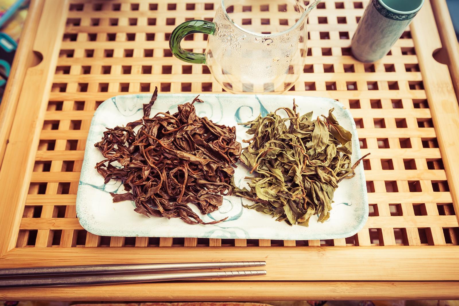 Big Island Tea Leaves