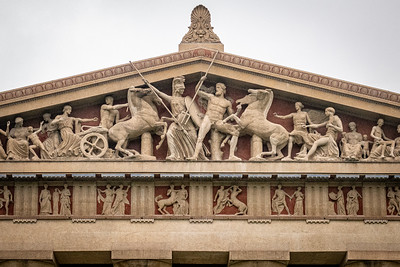 West Pediment of Parthenon in Nashville