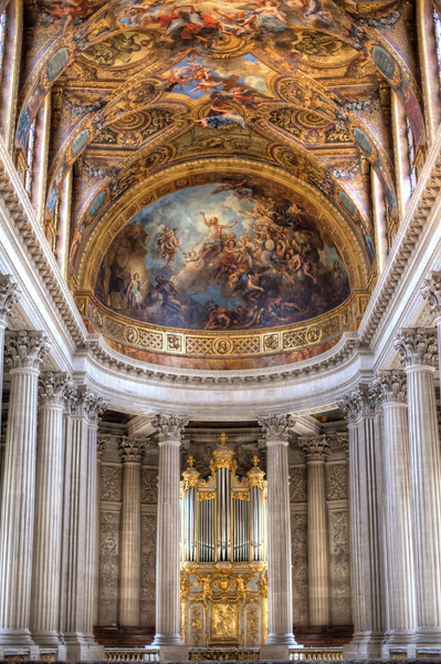 The Royal Chapel of King Louis XIV