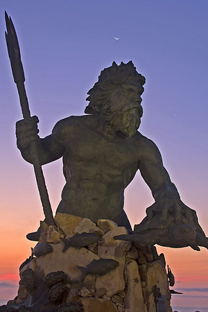 Neptune Statue, Virginia Beach, VA