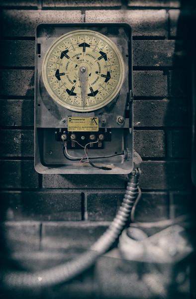 Old Bank Vault Timer