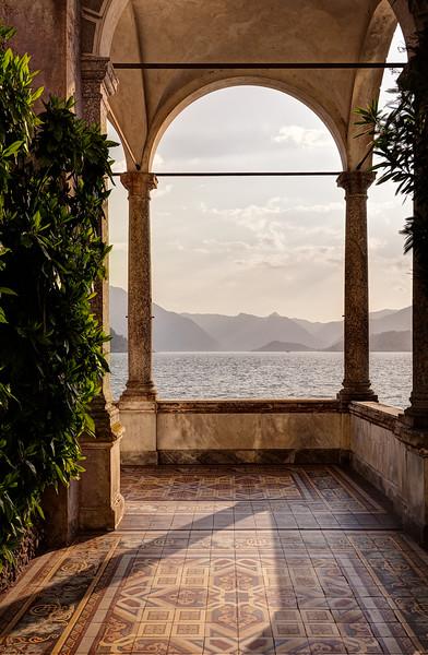 View of Lake Como from Villa Monastero