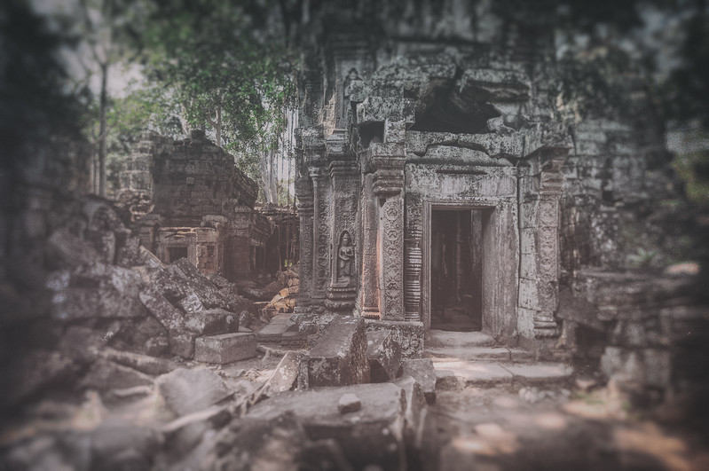 Tome Raiding in Cambodia