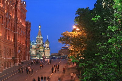 Moscow by night - Russia (May 2012)