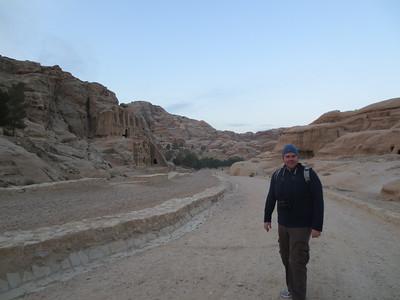 The Siq & Al-Khazna (Treasury) - Petra Jordan (Dec 2012)