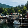 Telegraph Cove Harbour.  We stayed here the day before and after the kayak trip.  It was a great visit.