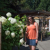 Christie & Hydrangeas in Coombs