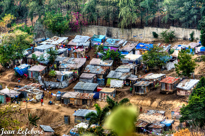 Petionville Tent City!