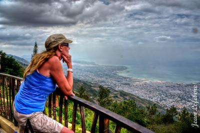 Le Boutillier lookout! Haiti
