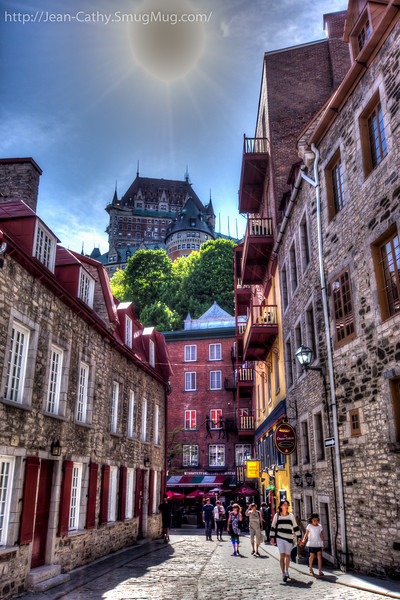 Lower Old Town in Quebec City.