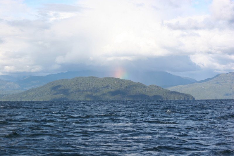 Rainbow over Coste Island