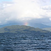 Rainbow over Coste Island