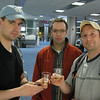 Aaron, Dan and Craig in the Miami airport