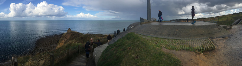 iPhone panorama at Cricqueville-en-Bessin, France.