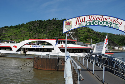 Rhine River tour boat