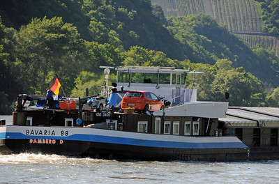 Rhine River barges 06