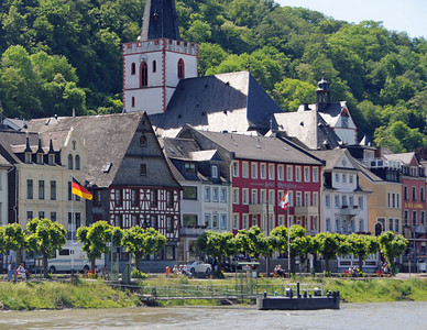 St Goar along the Rhone