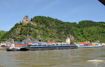 Rhine River barges 02