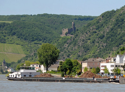 Rhine River barges 01